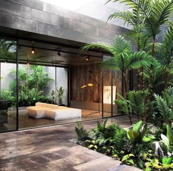 Gorgeous Natural Home Light Architecture Design Ideas04