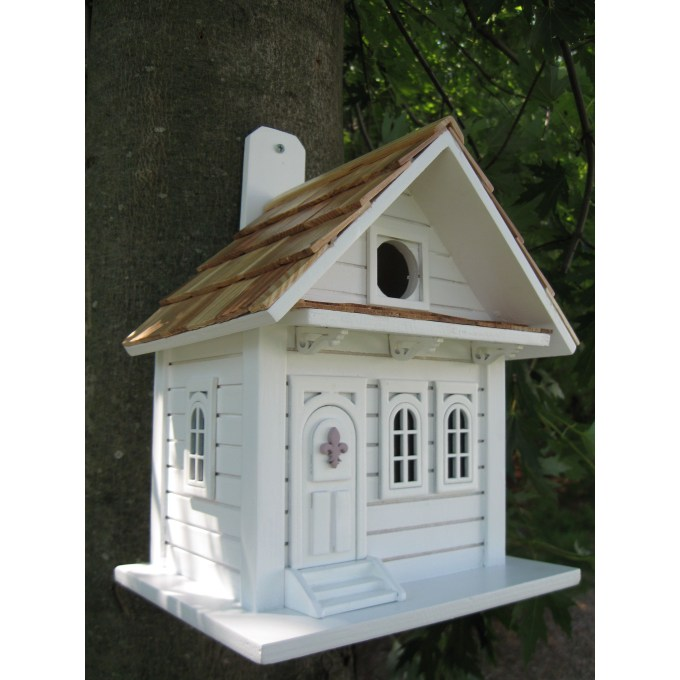 Magnificient Stand Bird House Ideas For Garden39