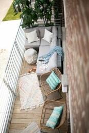 Popular Small Apartment Balcony Decor Ideas For You12