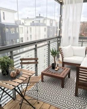 Popular Small Apartment Balcony Decor Ideas For You25
