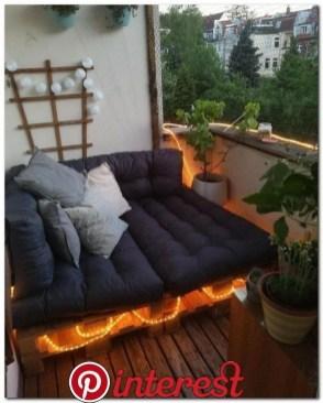 Popular Small Apartment Balcony Decor Ideas For You26