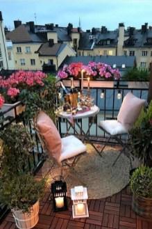 Popular Small Apartment Balcony Decor Ideas For You34