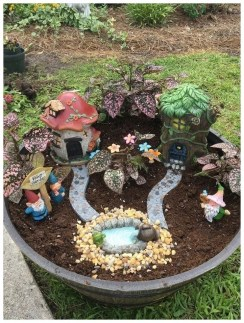 Pretty Fairy Garden Design Ideas To Try01