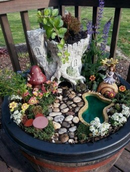 Pretty Fairy Garden Design Ideas To Try15