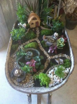 Pretty Fairy Garden Design Ideas To Try16