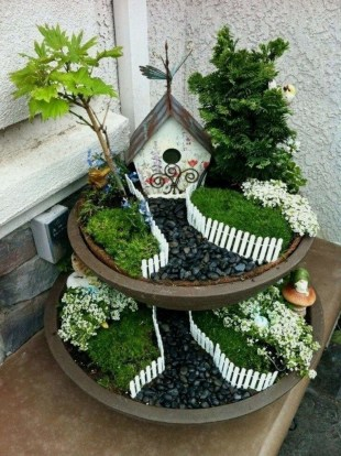 Pretty Fairy Garden Design Ideas To Try27