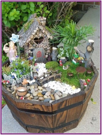 Pretty Fairy Garden Design Ideas To Try35