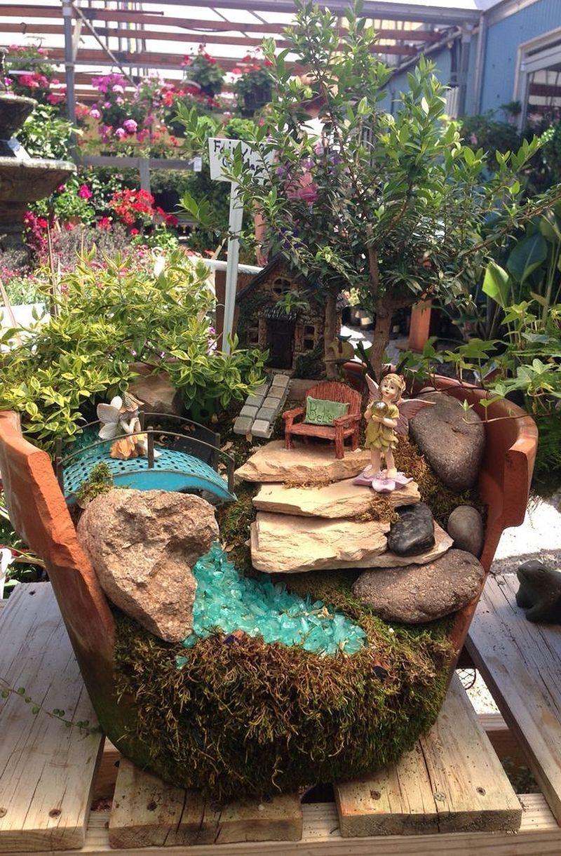 Pretty Fairy Garden Design Ideas To Try37