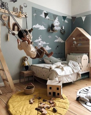 Relaxing Kids Room Designs Ideas That Strike With Warmth And Comfort08