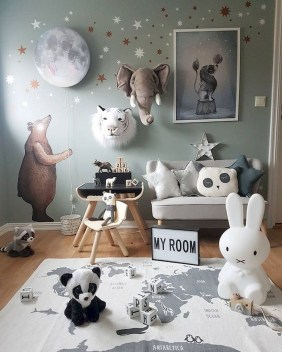 Relaxing Kids Room Designs Ideas That Strike With Warmth And Comfort33