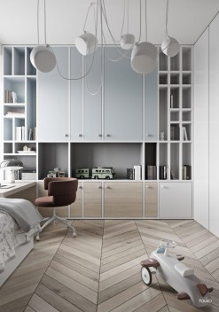 Relaxing Kids Room Designs Ideas That Strike With Warmth And Comfort35