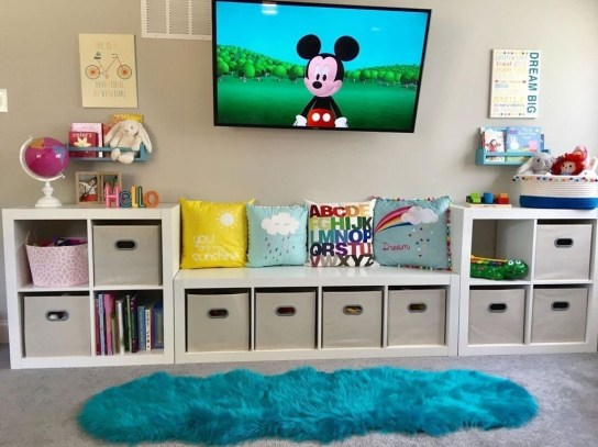 Relaxing Kids Room Designs Ideas That Strike With Warmth And Comfort38