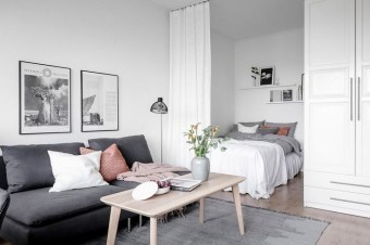 Splendid Studio Apartment Decorating Ideas That Looks Cool18