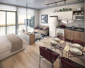 Splendid Studio Apartment Decorating Ideas That Looks Cool38