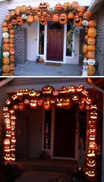 Stylish Outdoor Halloween Decorations Ideas That Everyone Will Be Admired Of39