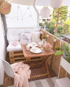 Superb Apartment Balcony Decorating Ideas To Try40