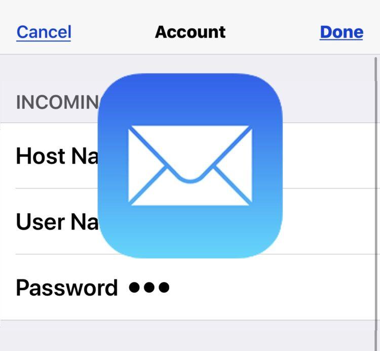 ▷ Как обновить пароль электронной почты на iPhone и iPad
