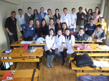 With the Med class.