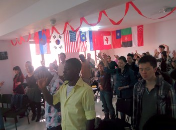 People from various nations respond to the gospel.