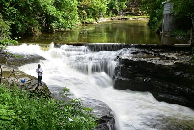 Para pescar es necesario unos ríos que no estén contaminados.