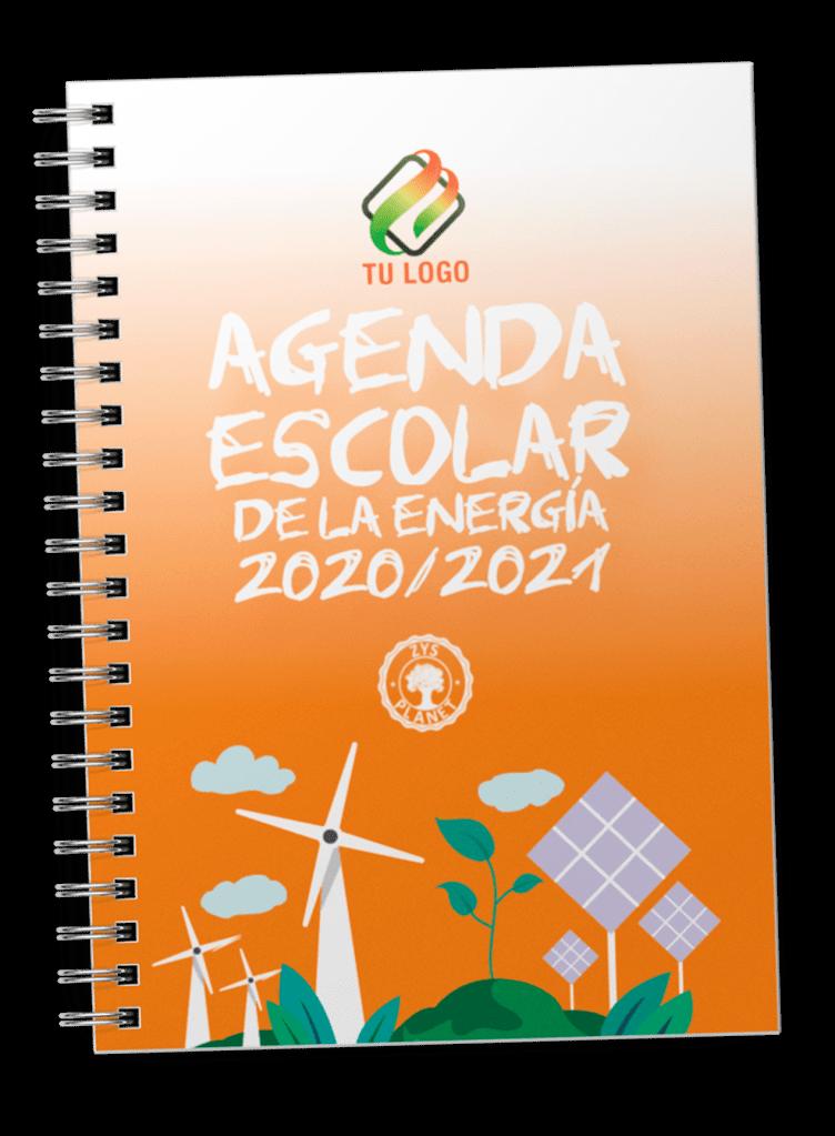 La Agenda Escolar de la Energía es una agenda diferente, que ofrece los servicios de una agenda escolar y educación medioambiental sobre la energía.