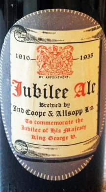 George V SIlver Jubilee label 1935