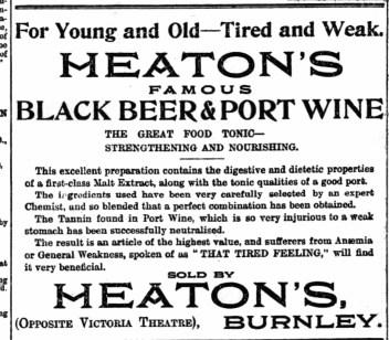 Black beer and port wine