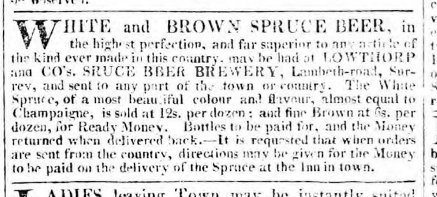 Spruce brewery London 1806