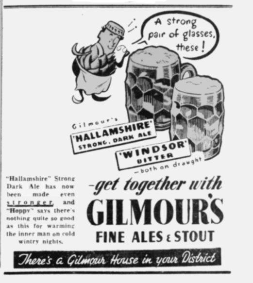 Sheffield Telegraph 31 October 1950
