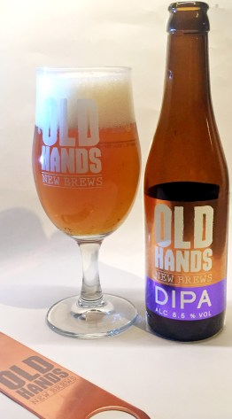 Old Hands DIPA: nicely restrained