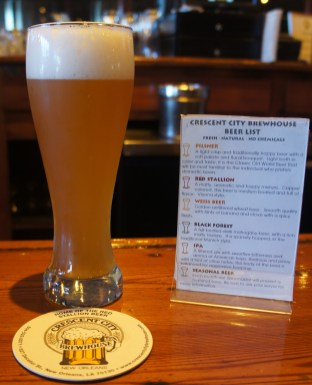 Crescent City brewhouse beer menu