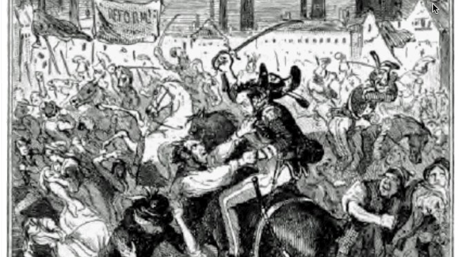 The porter brewer and the Peterloo Massacre