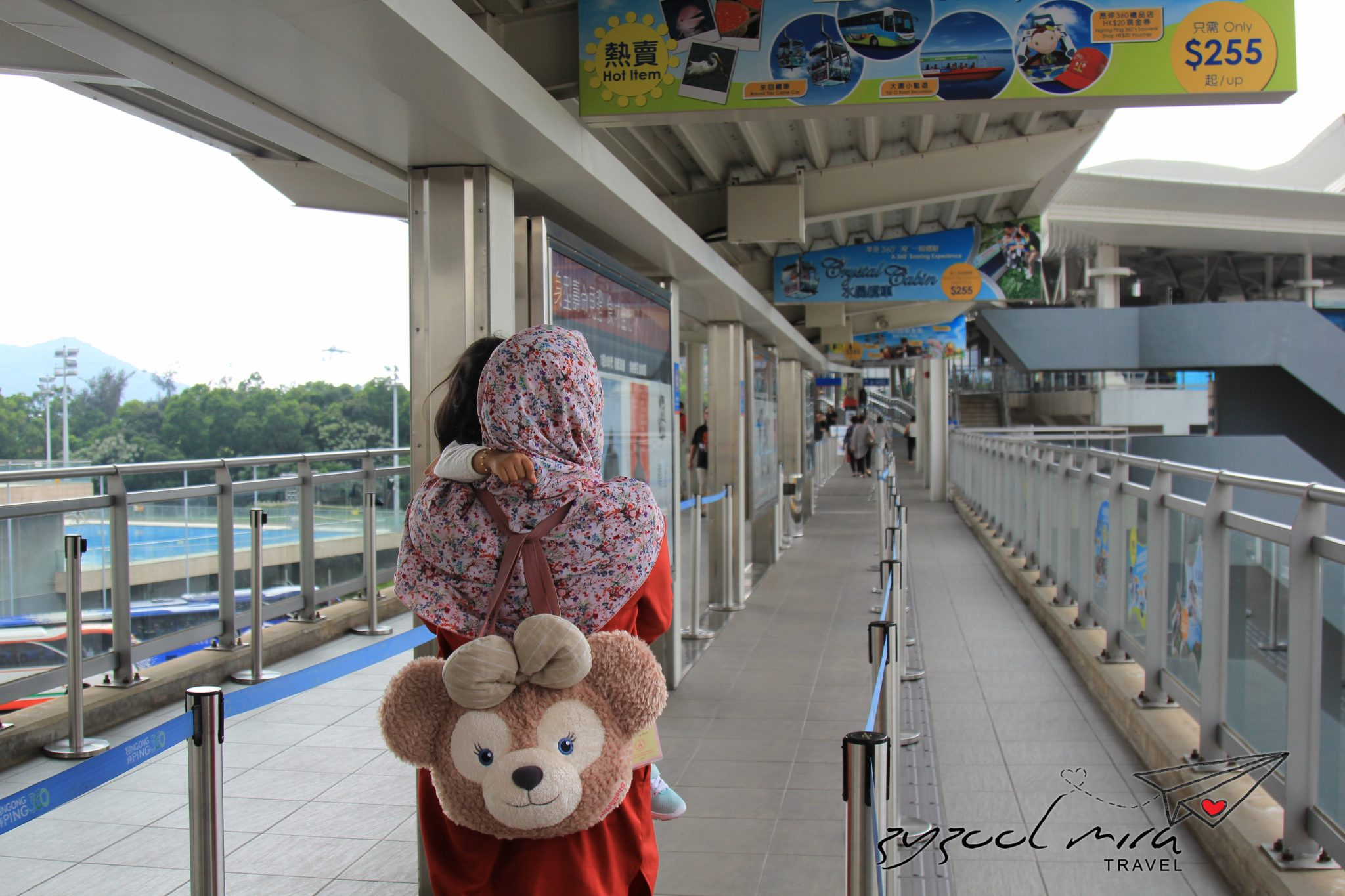 Beg Shellie May di Hong Kong Disneyland