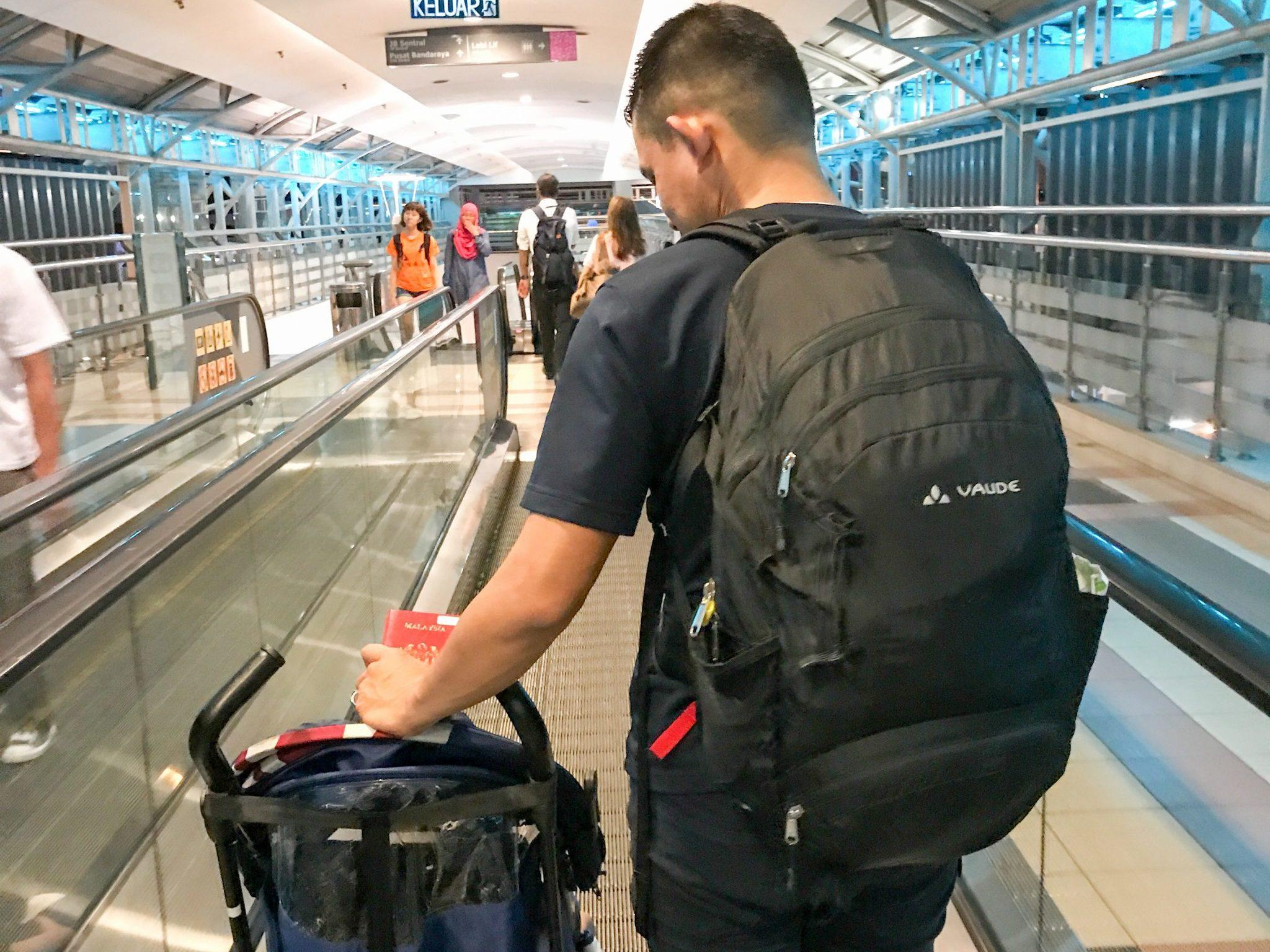 Beg Vaude yang HEBAT!! (30+4L)