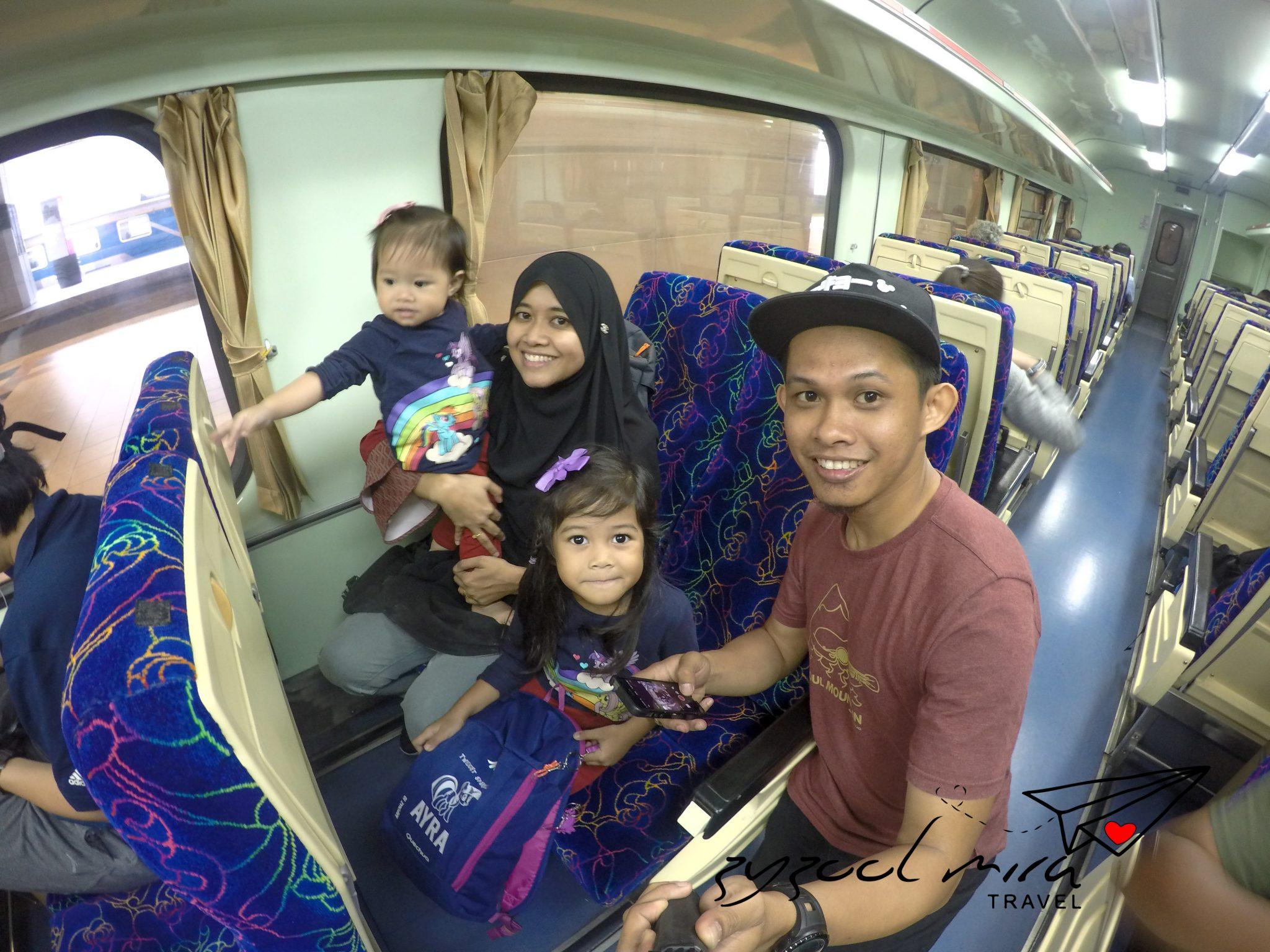 Tips ke Singapura dengan menaiki keretapi (KTM)
