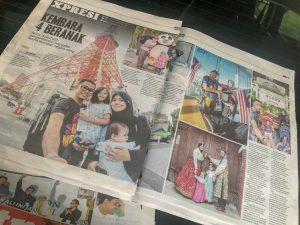 Zyzool Mira Featured in Harian Metro!!