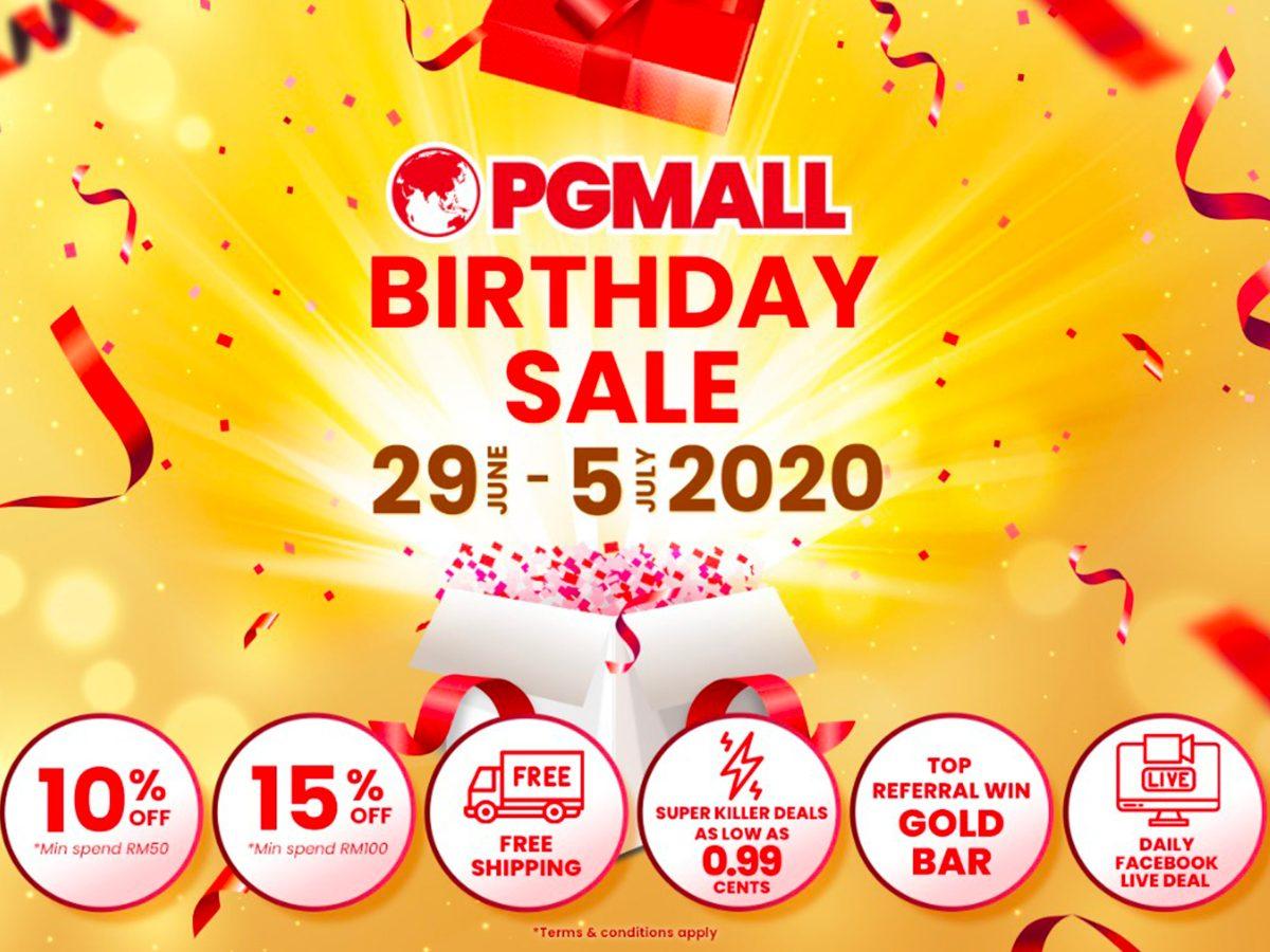 Jom shopping di PG Mall!