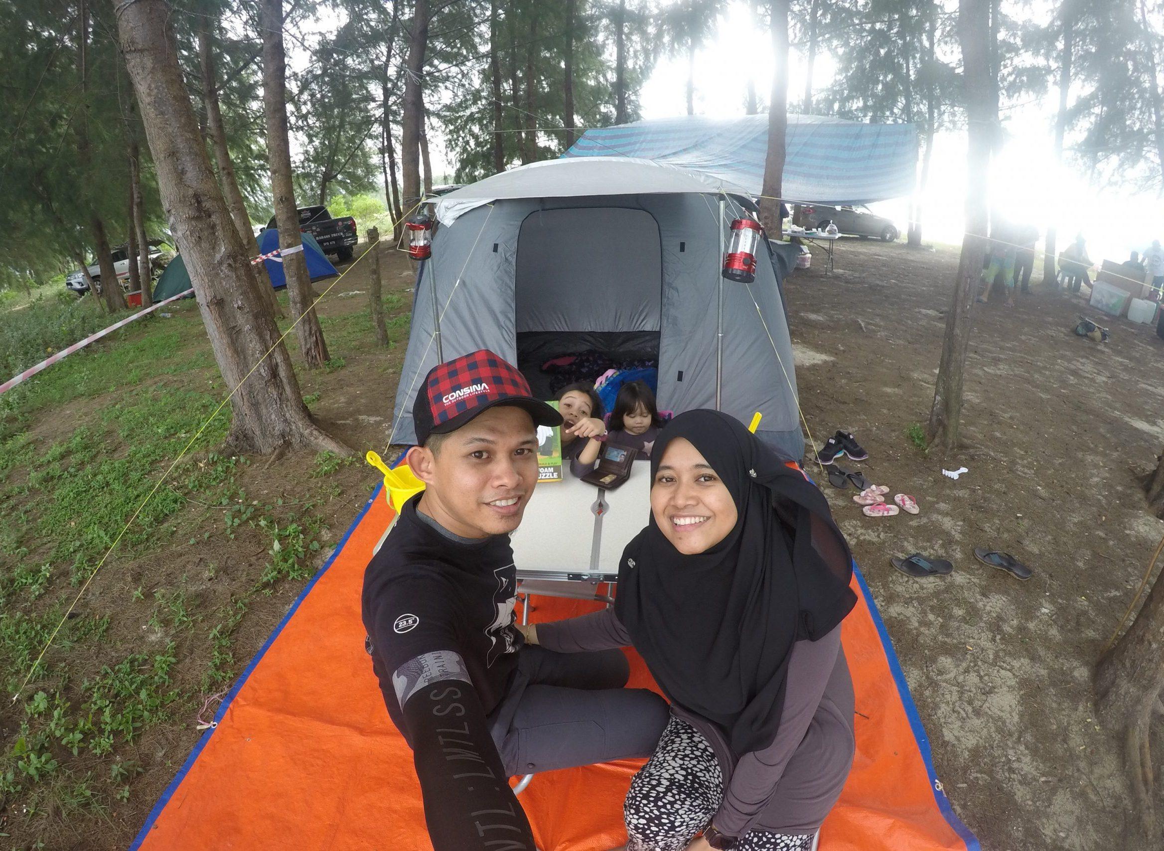 10 Tips Camping bersama Anak Kecil