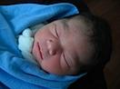 Fabiola at birth