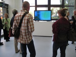 elmur zzz urban intervention video art collective visual dialogue galerie wedding berlin exhibition LQ